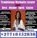 Trusted spell caster Drmama Mponye